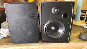 """Outdoor deck & patio speakers 6.5"""" and 1"""" tweeter"""