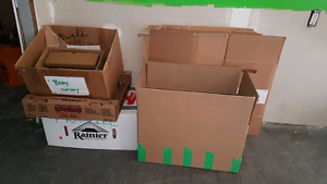 FREE BOXES NEED GONE ASAP