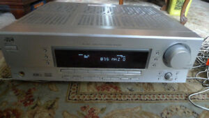 JVC RX-5042 AM FM Stereo Receiver Amplifier + Speakers .