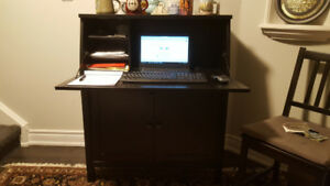 Office Desk with Lots of Space - Ample Storage - Moving Sale