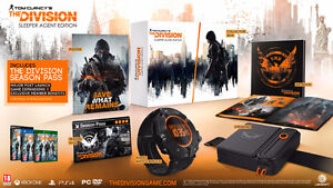 Tom Clancy's The Division Collectors Edition for PS4 -NO CONSOLE