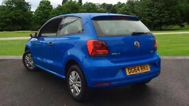 2014 Volkswagen Polo 1.0 S 3dr Manual Petrol Hatchback