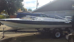 Great boat and trailer for the summer!!!18.5 ft sidewinder