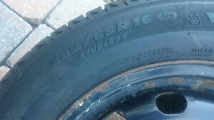 205 65 r 16 O205  rims and tires West Island Greater Montréal image 2