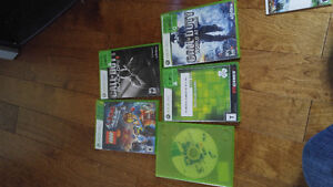 Xbox 360 with 5 games and 2 controllers Moose Jaw Regina Area image 2