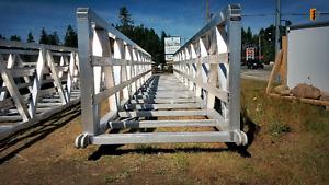 Marine Grade Aluminum Bridges, Ramps, & Gangways