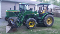2008  5625 John Deere   4X4  with Quick Attach Loader