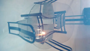 Glass Table and 4 chairs