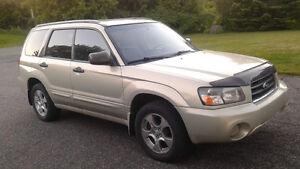2005 Subaru Forester xs VUS
