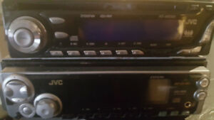 2 JVC 200 watt car audio system