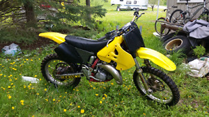 Suzuki RM 125 with ownership