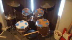 CB customised drum kit