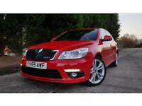 2009 59 SKODA OCTAVIA 2.0 VRS TFSI 198 BHP 6 SPEED MANUAL RED