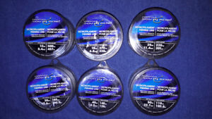 Fisherman's deal - 6 new spools of fishing line