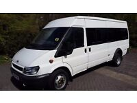 2004 Ford Transit Minibus - 17 seats-** FULL SERVICE HISTORY**
