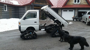 1995 suzuki carry 4x4 with hydraulic dump box
