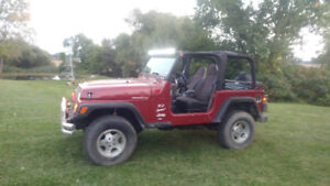 Reduced !! 1999 Jeep TJ Convertible