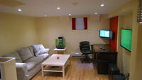 One bedroom Basement apartment at Langevin St. in St. Boniface