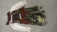 Woman Pirate / Octoberfest or Bar Wench Costume size medium