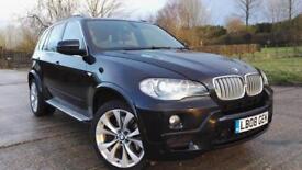 2008 BMW X5 3.0 E70 30sd M-Sport 286BHP Full Service History MEGA SPEC