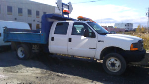 2002 FORD F550 DOMPEUR