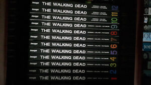 Walking Dead complete hardcover collection