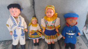 Antique European dolls