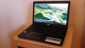 """6-month old Acer Laptop, Core i5-6200U, 8GB, 1TB HDD, 15.6"""" LED"""