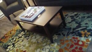 3 piece coffee table and end tables
