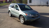 2011 Honda CRV EX-L AWD, only 67,000 km, mint shape.