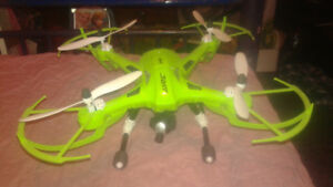 Big rc jet and a big rc quidcopter for sale.