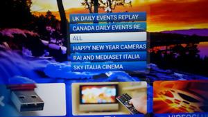 European IPTV all the European countries in one service.
