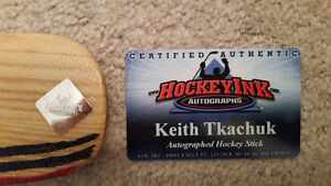 Lowered prices - signed Hockey sticks,Tavares,Tkachuk,Vokoun Kitchener / Waterloo Kitchener Area image 3