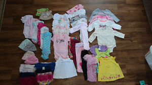3-6 month girl clothes - LOT