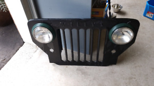 1953 3b willys new grill 350.00