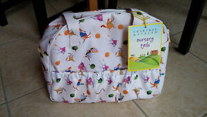 Crabtree and Evelyn Nursery Tail Baby Diaper Bag NEW