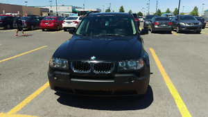 Bmw x3 2005 2.5 nav bluetooth