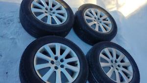 Michelin Latitude Tour 245 60 18 pour Mazda CX-9