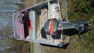 Fishing boat ,motor and tilt trailer