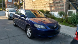 2005 Mazda 3 , Winter tires included, Negotiable price!
