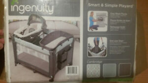 Ingenuity Smart and Simple Playard- Cambridge