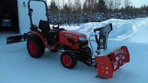 tracteur kubota 2620 4x4 2012