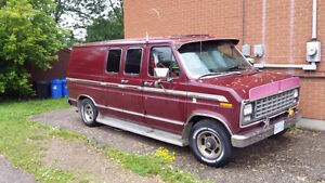 1980 Ford Econoline Chateau van.  $2000 OBO OR WILL TRADE ?as is