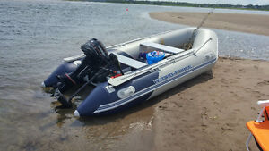 Boat inflatable hydro force 2016