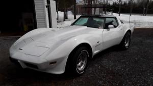 corvette 1979 a vendre