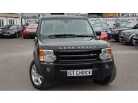 2008 LAND ROVER DISCOVERY 3 TDV6 HSE LOVELY JAVA BLACK WITH BLACK LEATHER P