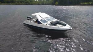 17ft bayliner with 2009 - 90hp evinrude etec