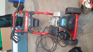 Troy build Honda 5.0 powered power washer