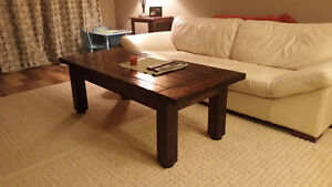 Anna White Rustic Coffee Table