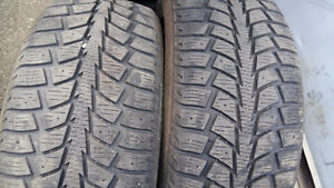 WINTER TIRES  205/55/r16  ($165....SET OF 4 TIRES